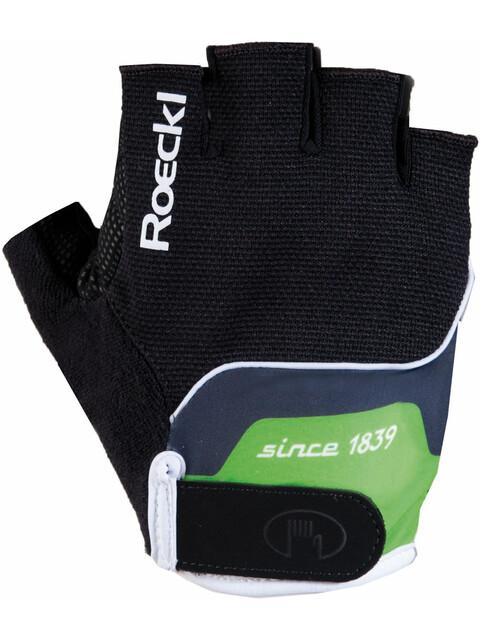 Roeckl Nano Handschuhe schwarz/grün